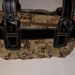 NWOT Authentic Classic Coach Satchel Handbag